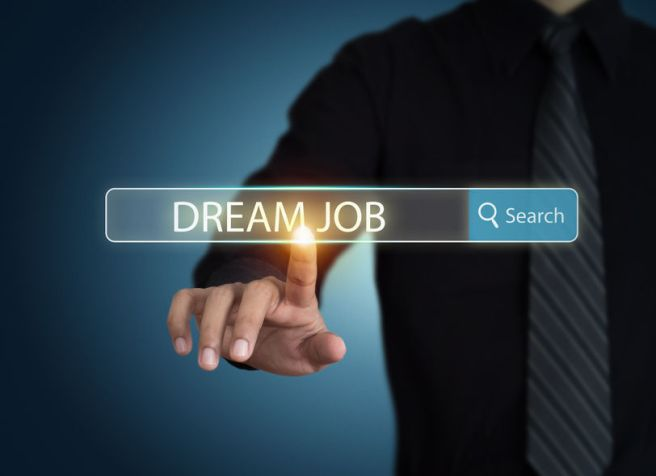 36760667 - businessman search for dream job